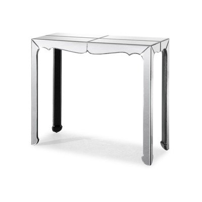 Cheap Vive Mirrored Console Table in Grey (B005ADLXFS)