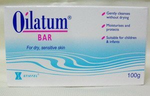 Pack of 3 Oilatum Bar Soap 100 G. Free Shopping