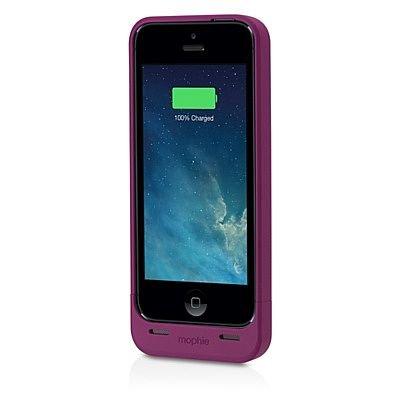 mophie Juice Pack Helium Snap Battery Case for iPhone 5/5s (1500mAh) - Dark Purple