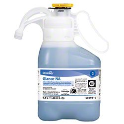 Diversey 95019510 Glance Gleaner, Commercial-Grade All Surface Cleaner, Blasts Nastiest Crud -- SmartDose Bottles (2/cs)