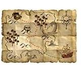Pirat 4 x Schatzkarte von Folat