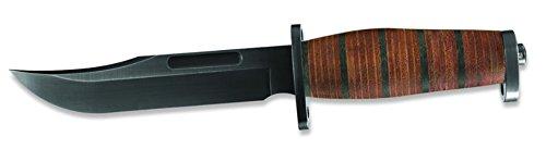 New Buck Brahma Knife Folding Knife + Includes a Free Zombie Hunter Survival Knife