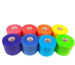 Mueller Rainbow Pack of Sports Pre-Wrap (8 colors!) by Mueller