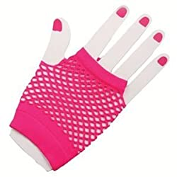 [Best price] Grown-Up Toys - Forum Novelties Women's 80's Neon Short Fishnet Adult Gloves - toys-games