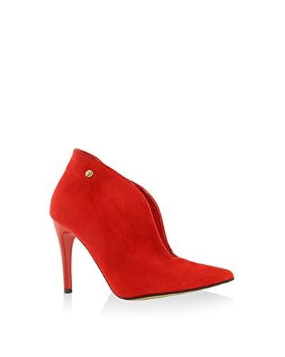 BOSCCOLO Zapatos abotinados Rojo