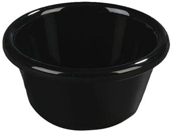 Carlisle 4312303 Smooth Ramekin, 3-oz. Capacity, Black (Case of 48)