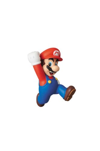 Medicom Nintendo Super Mario Bros. Ultra Detail Figure Series 1: Wii Mario UDF Action Figure