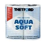 4 Rollen Thetford Aqua Soft Toilettenpapier