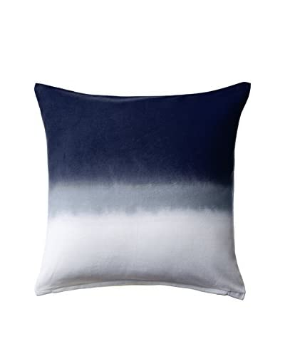 Nine Space Ombre Pillow Cover, Blue