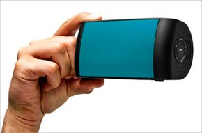 The Oontz With Blue Grille By Cambridge Soundworks - Top Rated Bluetooth Speaker