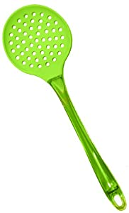 Chef Select Ergo Silicone Skimmer with San Handle, Green by Chef Select Ergo