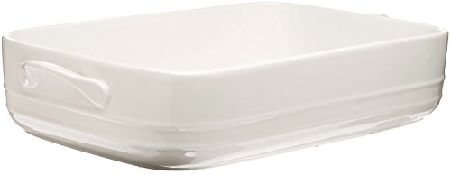 Maxwell And Williams Tp74931 Basics Oven Chef Rectangular Baker, 12.5 By 9-Inch, White