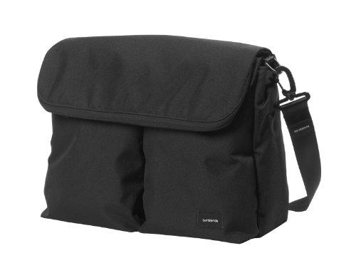 Bumbleride Diaper Bag Jet Black, Black