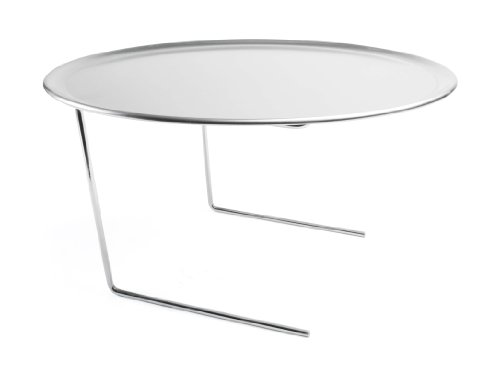 """Pizzacraft Pc0404 8"""" X 8"""" Wire Pizza Stand With 16' Round Aluminum Pan Set"""