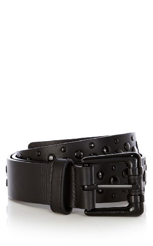 Studded jeans belt