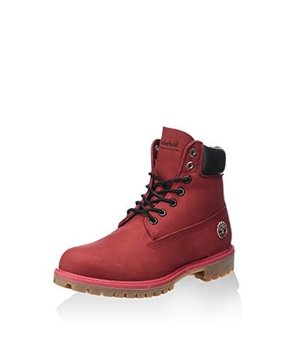 Timberland Stivaletto Stringato 6 Premium Boot Ruby [Mattone]