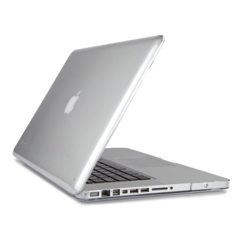 Speck Products See Thru Hard Shell Case for MacBook Pro 13-Inch Aluminum Unibody Only, Clear (SPK-A0445)
