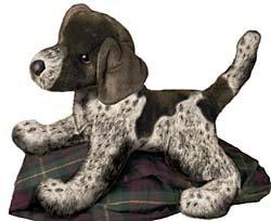 Plush Animal: German Shorthaired Pointer Plush