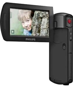 Philips CAM295BL/00 Black Full HD 1080p HD Camcorder with Touch Screen Control
