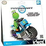 K'NEX Nintendo Mario Kart Yoshi and Standard Bike Play Set