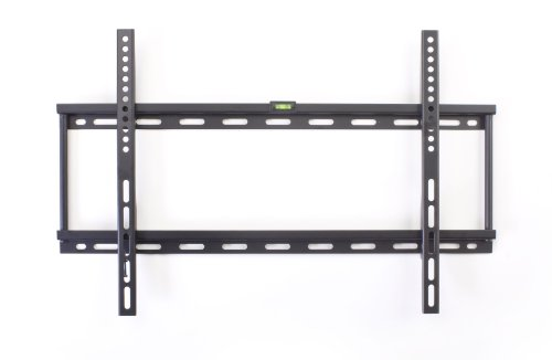 Displays2Go Mntf202C Low Profile Wall Mount Bracket For A Lcd, Led Or Plasma Tv Between 26 And 55 Inches, Black