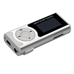 DIGITAL MP3 PLAYER WITH TF SLOT, LCD DISPLAY AND FM RADIO