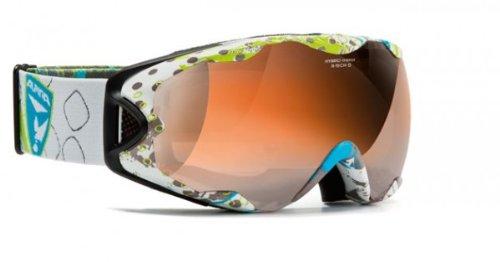 Brillenträger Skibrille Alpina R-Tech S HM /OTG HYBRID MIRROR orange spherical S2
