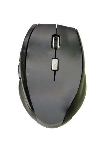 "Lb1 High Performance New Optical Mouse 2.4G Wireless Mouse With Side Controls For Lenovo G700 17.3"" Laptop Computer Black 4 Dpi Levels (800/1200/1600/2400) 6 Buttons Gaming Mouse"