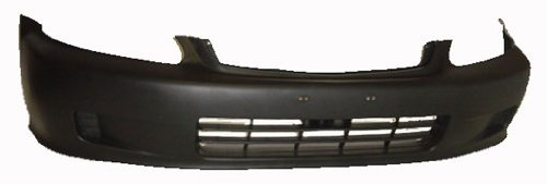 OE Replacement Honda Civic Front Bumper Cover (Partslink Number HO1000184) (Front Bumper For Honda Civic 2000 compare prices)