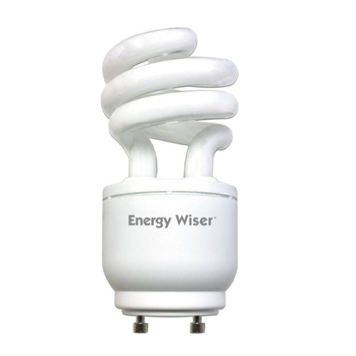 Bulbrite CF13WW/GU24/DM 13W 120V Energy Wiser Dimmable Compact Fluorescent Coil T3 Bulb, Warm White