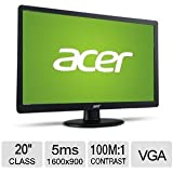 "Acer S200HQL 20"" Class LCD Monitor - UM.IS0AA.C01"