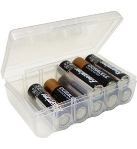 Dial AA Battery Storage Box