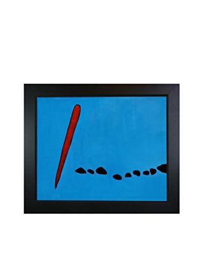 "Joan Miro ""Bleu II"" Reproduction Oil Painting"