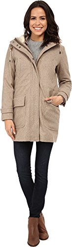 Cole Haan Women's 4-in-1 Hooded Parka with Removable and Reversible Liner Bomber Jacket Maple Sugar Outerwear 6 (Cole Haan Hooded compare prices)