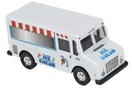 Ice Cream Truck- Die Cast Metal - Pull Back and Go - 1