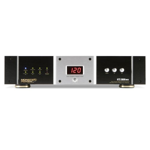 Monster Home Theatre Reference Hts 3600 Mkii Powercenter With Clean Power Stage 3 V.2.1 Circuitry front-480645