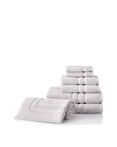 Chortex Irvington 7-Piece Towel Set, Silver