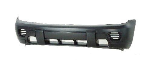 TKY CV04087BB-DK1 Chevy Trailblazer Primed Black Replacement Front Bumper Cover (Blazer Front Bumper compare prices)