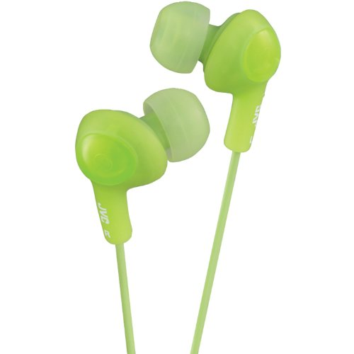 Jvc Hafr6G Gumy Plus High Quality Headphones (Green)
