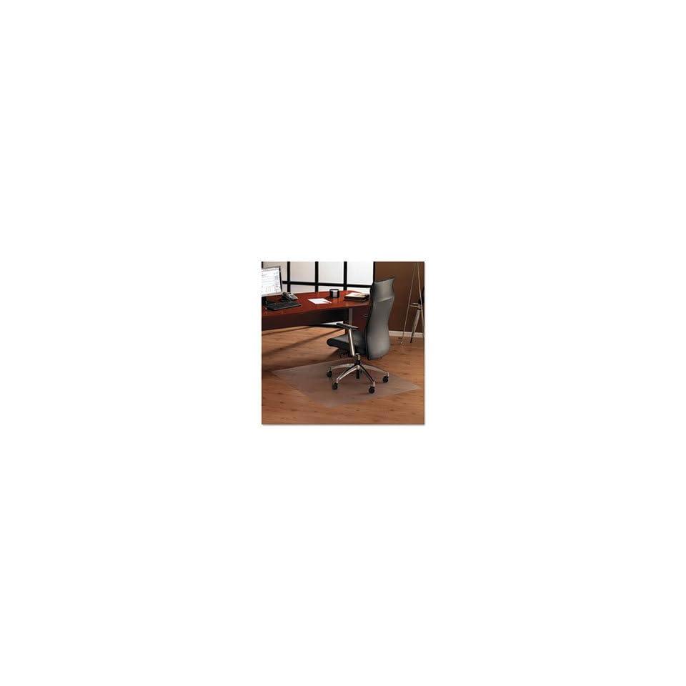 ClearTex XXL Ultimat Chair Mat, 60 x 60, No Lip, Clear