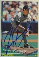 Dave Fleming Seattle Mariners 1994 Topps Autographed Hand Signed Trading Card. by Hall+of+Fame+Memorabilia