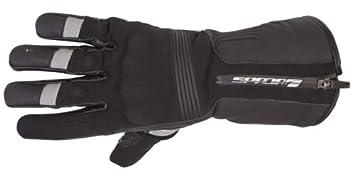 nouvelle moto Spada en cuir/Textile gants Prestige-Tech noir imperméable à l'eau