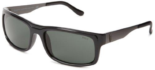 c0541aa6bf83 Polo Ralph Lauren Men's 0PH4059 Rectangle Sunglasses