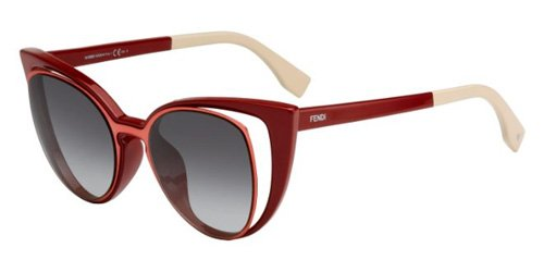 Sunglasses-Fendi-136S-0NZ1-Orange-Red-VK-gray-gradient-lens