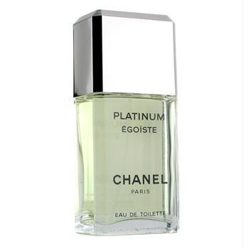 CHANEL Egoiste Platinum By Chanel Eau De Toilette Spray 3 3 fl oz 3 3 fl oz