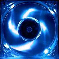 Evercool 92Mm X 25Mm Crystal Led Fan Blue
