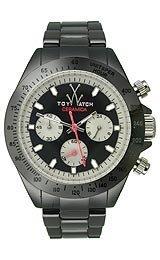 Toy Watch Ceramica Chronograph Black Ceramic Unisex Watch CM04BK