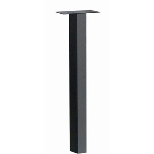 Architectural Mailboxes Oasis In-ground Post, Black