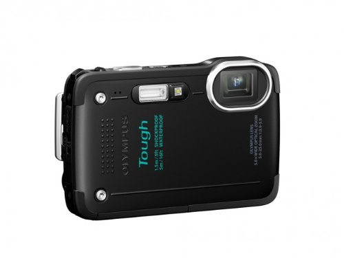 Olympus Stylus TG-630 iHS Digital Camera with 5x Optical Zoom and 3-Inch LCD (Black)