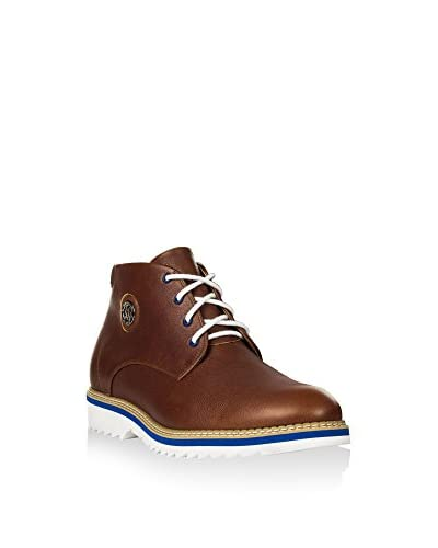 Hemsted & Sons Zapatillas abotinadas M00263 Marrón